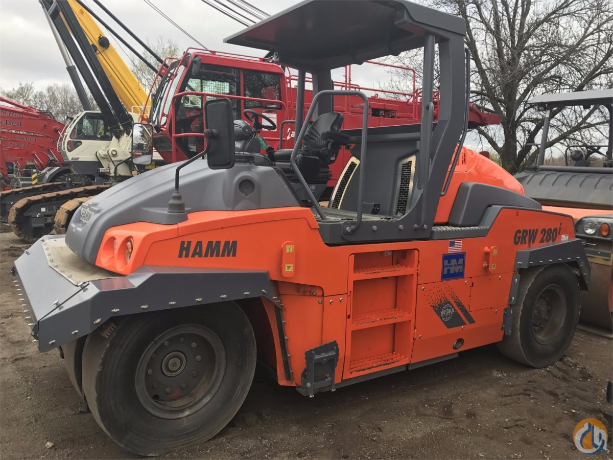 2016 Hamm GRW280-30 Pneumatic HAMM GRW280-30 Hayden-Murphy Equipment Co. 22100 on CraneNetwork.com